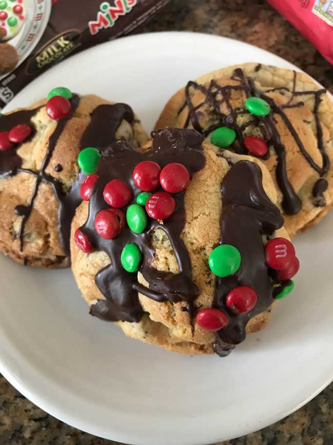 Chocolate Chip Cookie Pillows
