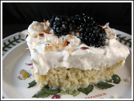 Small Coconut Tres Leches Cake