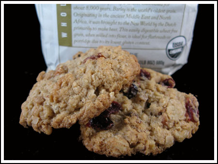 Oats and Barley Cookies
