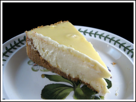 Alton Brown's Awesome Cheesecake