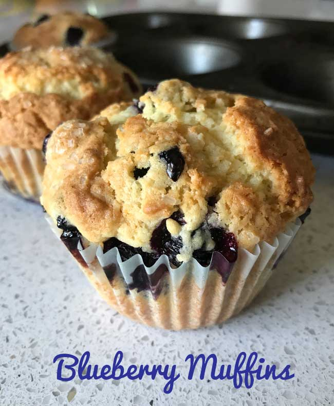 favorite blueberry muffin