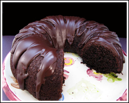 Really Good Chocolate Bundt Cake - Cookie Madness