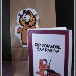 garfield invitations
