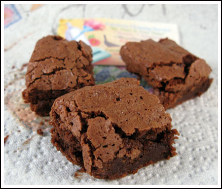 cake flour brownies