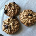 cranberry-walnut oatmeal