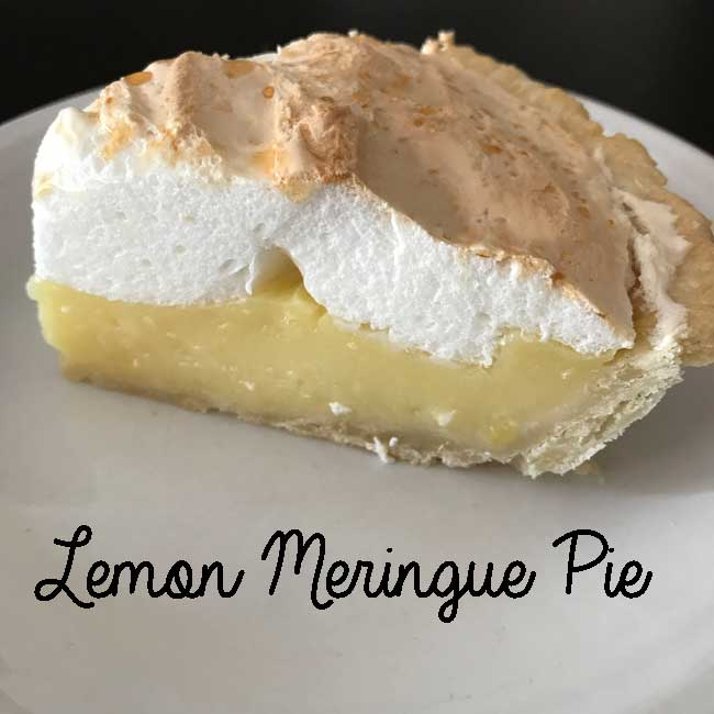 Cheryl's Lemon Meringue Pie