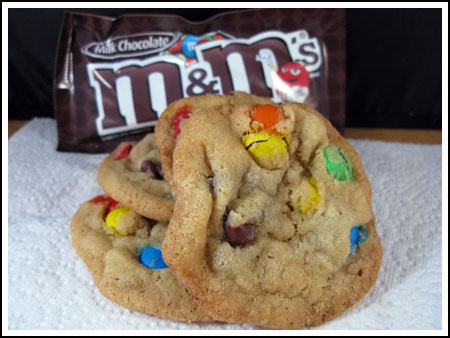 Best Yet M&Ms Cookies