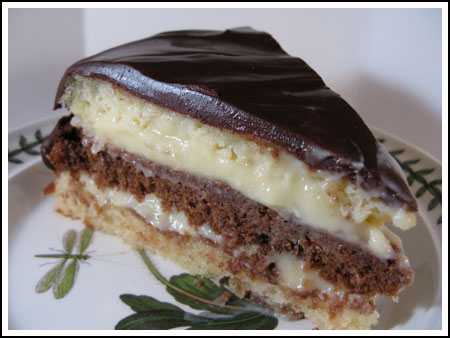 Boston Cream Pie Cake Recipe