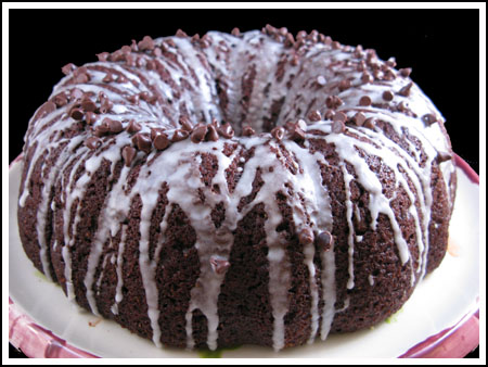 chocolate pumpkin bundt cake