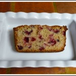 cranberry jalapeno bread cut