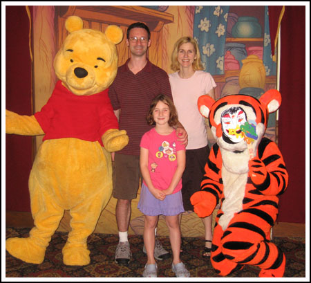 disney family with tigger