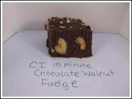 fudge condensed milk