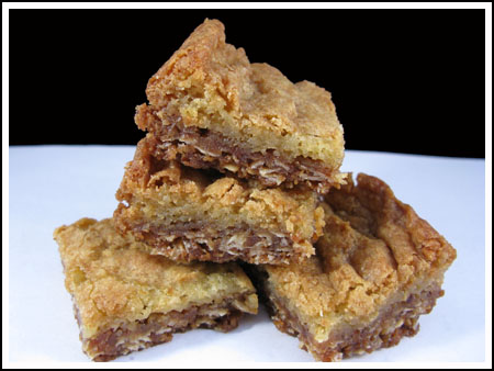 white chocolate oatmeal crunch brownies