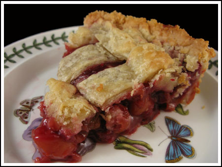 Thanksgiving Cherry-Berry Pie