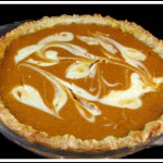 Marbled Pumpkin Pie
