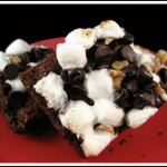 Brownie Mix Rocky Road Brownies