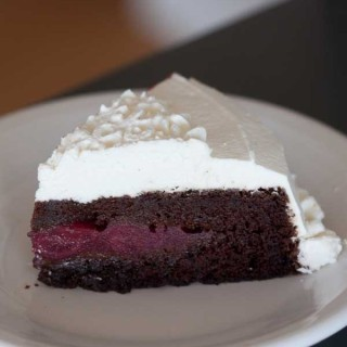 Black Magic Forest Cake