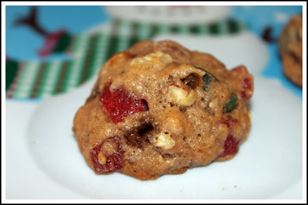Candied Fruit Bourbon Cookies