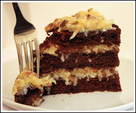 German Chocolate Cake Recommendations