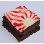 Pretty Peppermint Brownies from Sunset