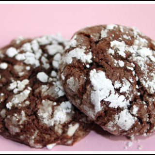 Crinkle Cookies with Sambuca or Ouzo