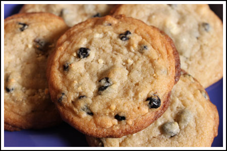Blueberries-and-Cream Cookie