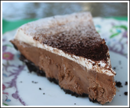 chocolate marshmallow pie