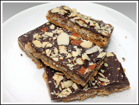 Oat 'n' Toffee Grahams Recipe
