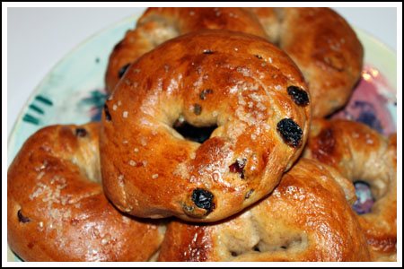 raisin bagels