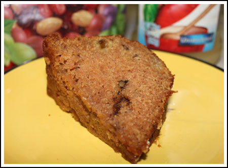 Lunchbox Applesauce Cake