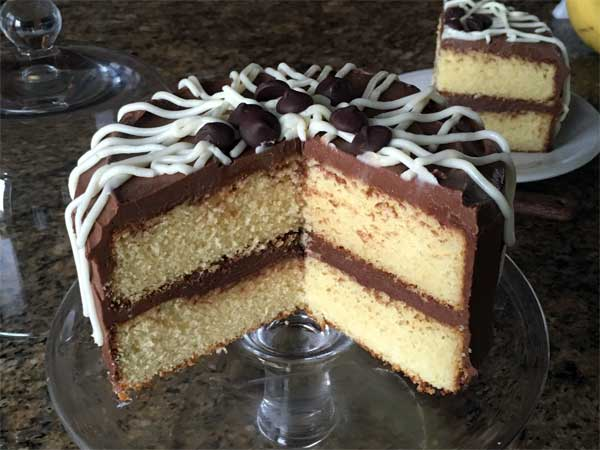rich yellow cake