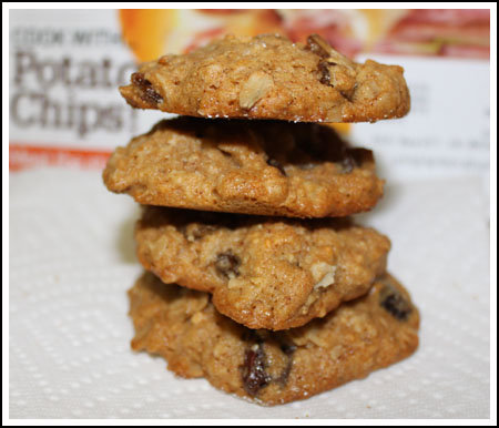 Ellie Krieger's Honey Oatmeal Raisin Cookies