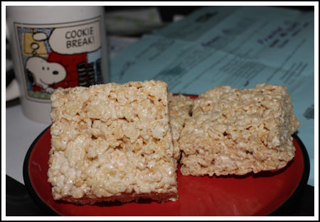 Rice Krispie Treats with Browned Butter