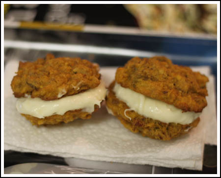 Carrot Cake Cookies from Bon Appetit