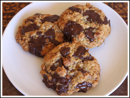 Oatmeal Coconut Chocolate Chunk Cookies