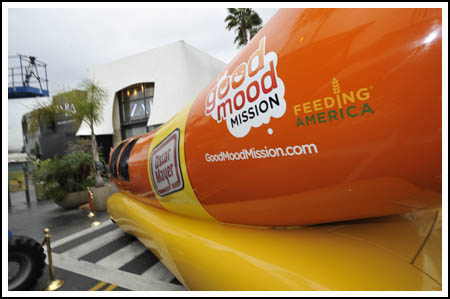 Ride Shotgun in the Oscar Mayer Wienermobile