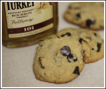 Bourbon-Pecan Chocolate Chip Cookies