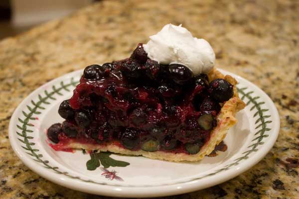 The Best Blueberry Pie Yet!
