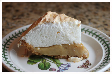Small Butterscotch Pie