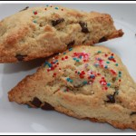 Chocolate Chip Sour Cream Scones