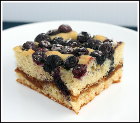 Blueberry Muffin Squares Square