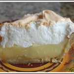 Lemon Meringue Pie Slice