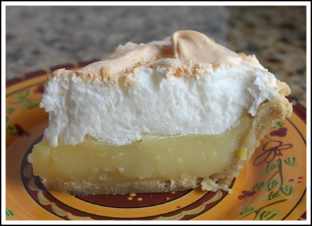 Fool Proof Lemon Meringue Pie Slice