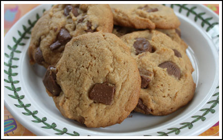 mini peanut butter cups toffee cookies