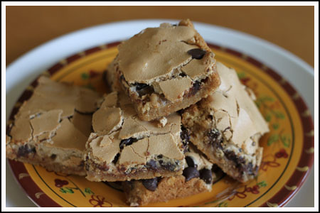 Peanut Butter Mud Hen Bars