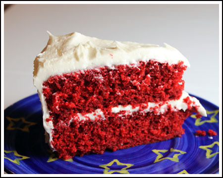 Self Rising Flour Red Velvet Half-Cake