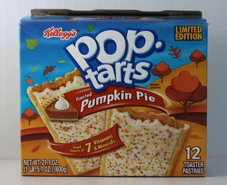 Pumpkin Pie Pop Tarts Box