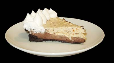 Chocolate Butterfinger Pie