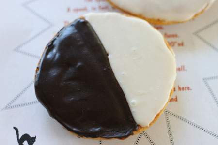 Favorite Black and White Cookies