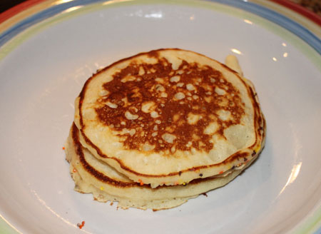 malted milk powder pancakes